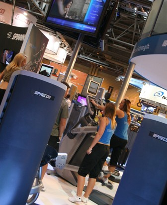 Precor at LIW 08